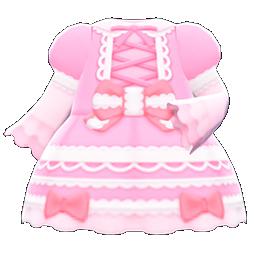 Main image of Lace-up dress