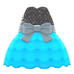 Image of Bubble-skirt party dress