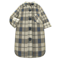 Image of Maxi shirtdress