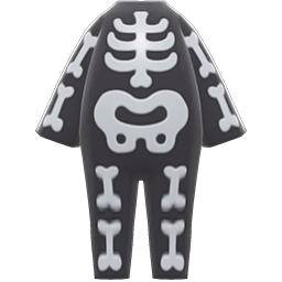 Animal Crossing New Horizons Bone Costume Image
