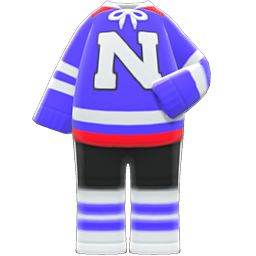 Animal Crossing New Horizons Ice-hockey Uniform Image