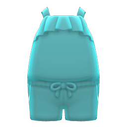 Animal Crossing New Horizons Shorts Outfit (Light Blue) Image