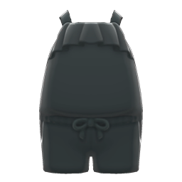 Animal Crossing New Horizons Shorts Outfit (Black) Image
