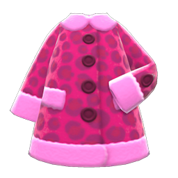 Animal Crossing New Horizons Animal-print Coat Image