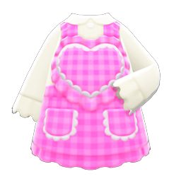 Image of Heart apron