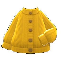 Aran-knit