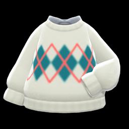 Animal Crossing New Horizons Argyle Sweater Image