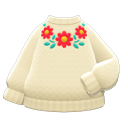 Image of Flower sweater