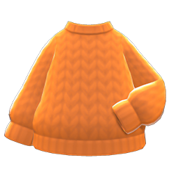 Image of Simple knit sweater