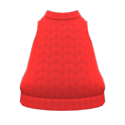 Image of Hand-knit tank