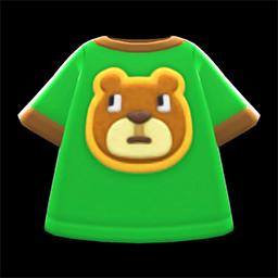Animal Crossing New Horizons Bear Tee Image