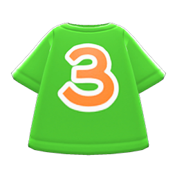 Image of No. 3 shirt