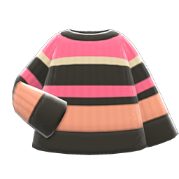 Image of Colorful striped sweater