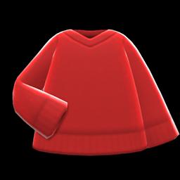 Image of V-neck sweater