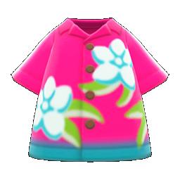 Animal Crossing New Horizons Bold Aloha Shirt Image