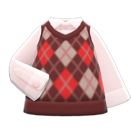 Image of Argyle vest