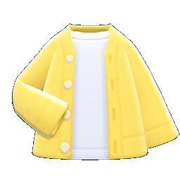 Main image of Cardigan-shirt combo