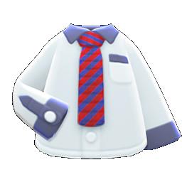 Image of variation Red-striped necktie