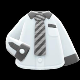 Image of variation White-striped necktie