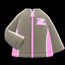 Animal Crossing New Horizons Track Jacket (Gray) Image