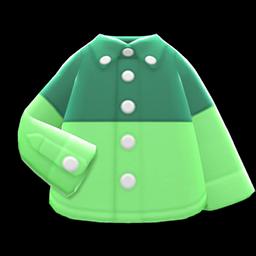 Main image of Color-block dress shirt