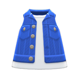 Animal Crossing New Horizons Denim Vest Image