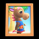 Animal Crossing New Horizons Annalise's Photo Image