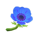 Animal Crossing New Horizons Blue Windflowers Image