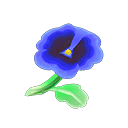 Animal Crossing New Horizons Blue Pansies Image