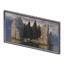 Animal Crossing New Horizons Mysterious Painting Image