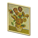 Animal Crossing New Horizons Flowery Painting Image