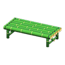 Animal Crossing New Horizons Bamboo Bench Image