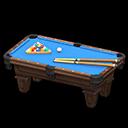 Animal Crossing New Horizons Blue Billiard Table