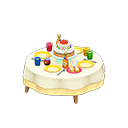 Animal Crossing New Horizons Birthday Table Image