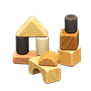 Image of Wooden-block toy