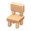 Image of Wooden-block chair