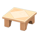 Animal Crossing New Horizons Wooden-block Table Image