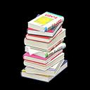 Animal Crossing New Horizons Comics Stack of Books