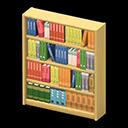 Animal Crossing New Horizons Wooden Bookshelf