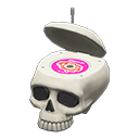 Animal Crossing New Horizons Throwback Skull Radio