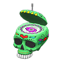 Image of Throwback skull radio