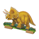 Animal Crossing New Horizons Throwback Dino Screen
