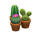 Animal Crossing New Horizons Mini-cactus Set