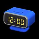 Animal Crossing New Horizons Blue Digital Alarm Clock