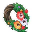Animal Crossing New Horizons Windflower Wreath Image