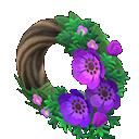Animal Crossing New Horizons Chic Windflower Wreath Image