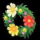 Animal Crossing New Horizons Cosmos Wreath Image