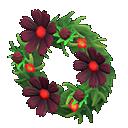Animal Crossing New Horizons Chic Cosmos Wreath Image