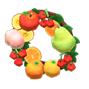 Animal Crossing New Horizons Fruit Wreath Image