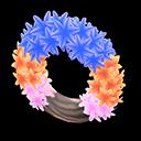 Animal Crossing New Horizons Cool Hyacinth Wreath Image